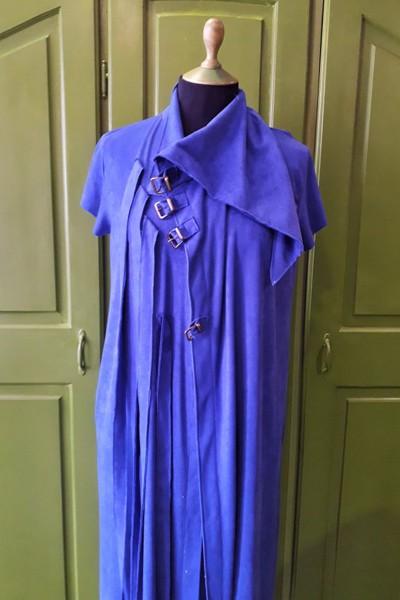 plava prsluk haljina 3